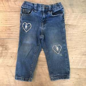 Koala Kids Sequined Heart Jeans 18 Months